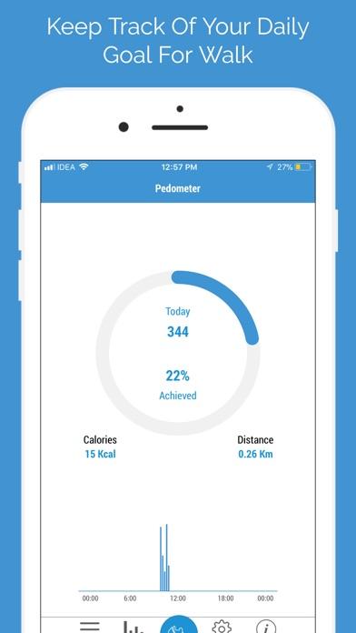 Pedometer PRO- Fitness Tracker Screenshots