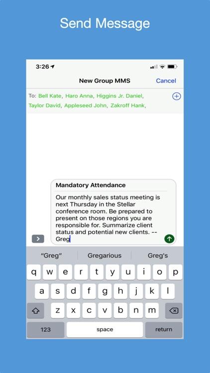 Messaging Notifier screenshot-6