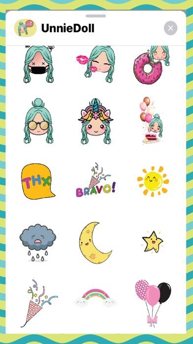 Unnie Doll Stickers