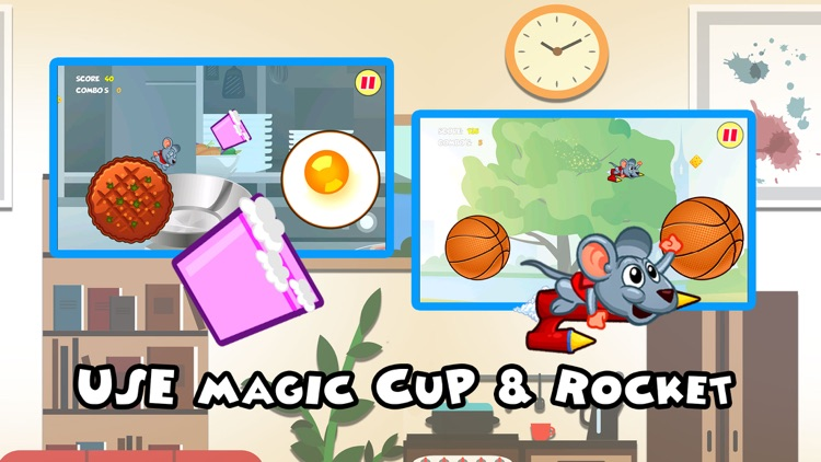 A Jumpy Mouse Tap Running Dash by Melting Pot Games