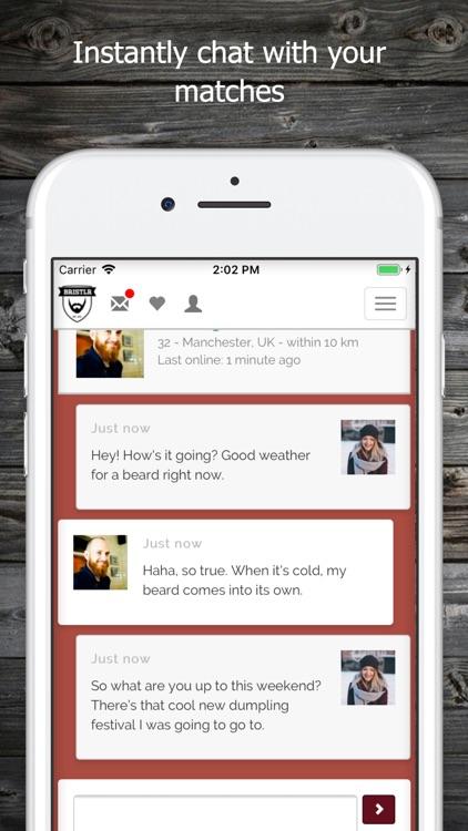 Bristlr, dating for beard fans screenshot-3