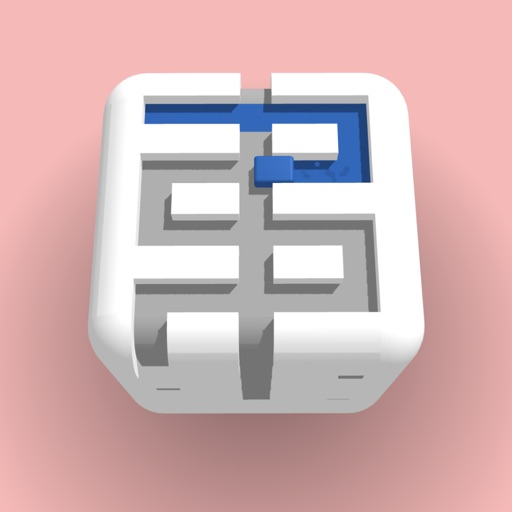 Paint the Cube free software for iPhone and iPad