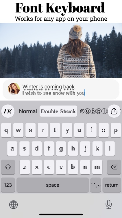 Fonts Keyboard - Cool Fonts screenshot-4