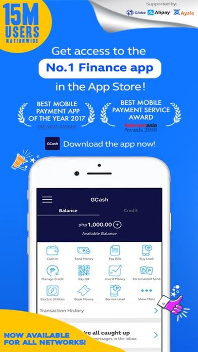 Screenshot for GCash in Philippines App Store