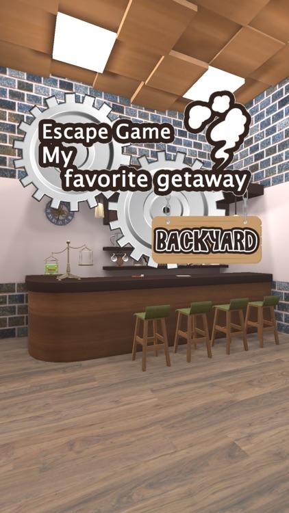 BACKYARD : My favorite getaway