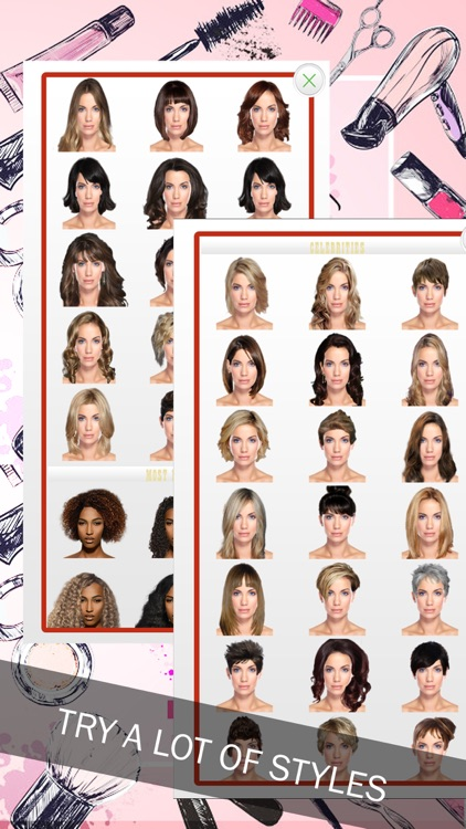 Your Woman Hairstyle Try On screenshot-3
