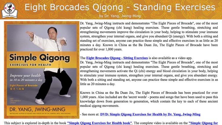 Eight Brocades Qigong Standing screenshot-4