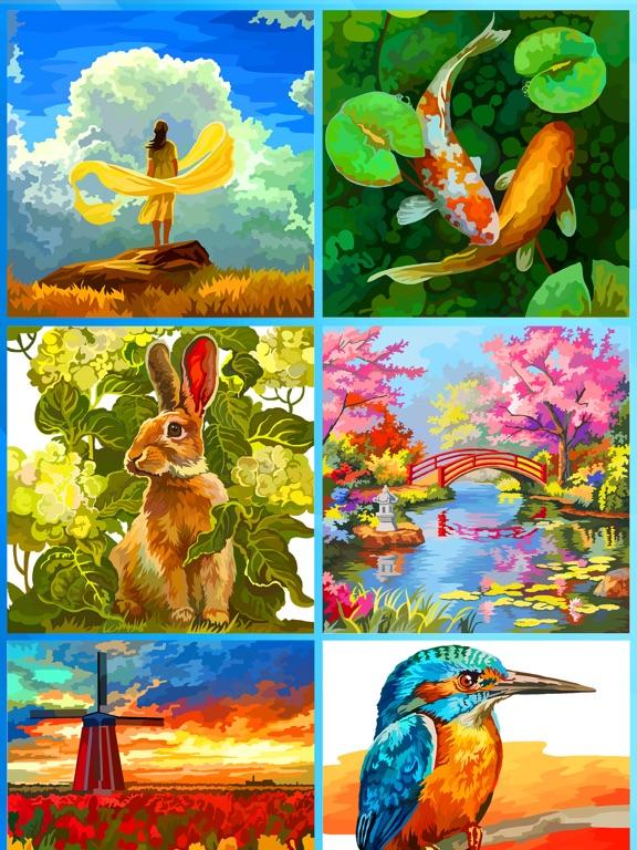 大人の塗り絵 ジグソーパズルのおすすめ画像2