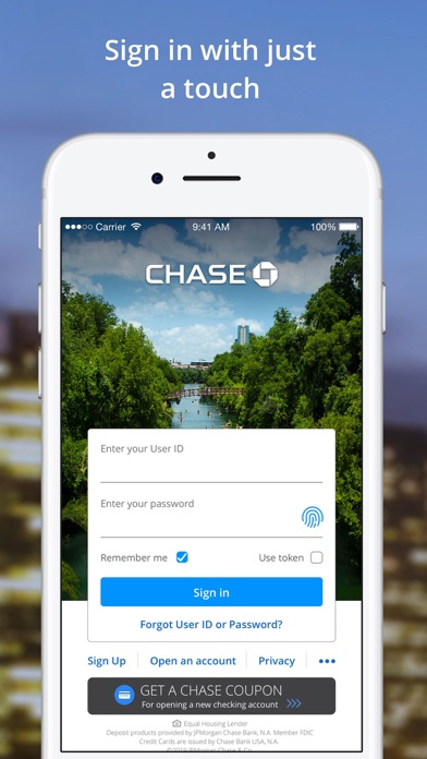cancel Chase Mobile® app subscription image 1