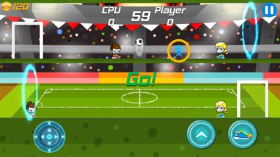 One Foot Soccer screenshot one