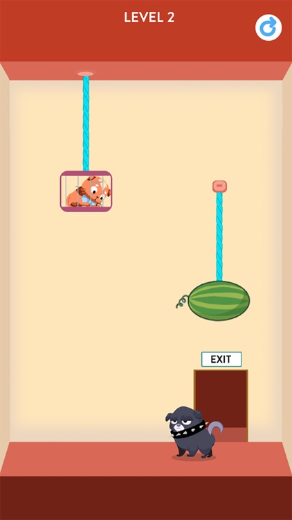 Rescue Kitten - Rope Puzzle screenshot-0