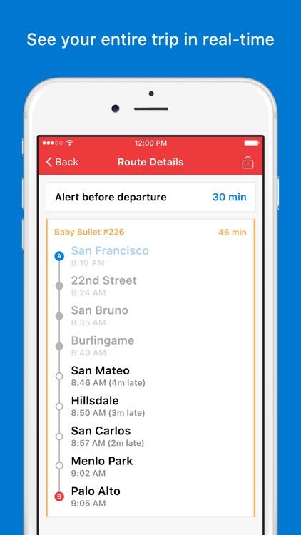 Trip Planner for Caltrain screenshot-3