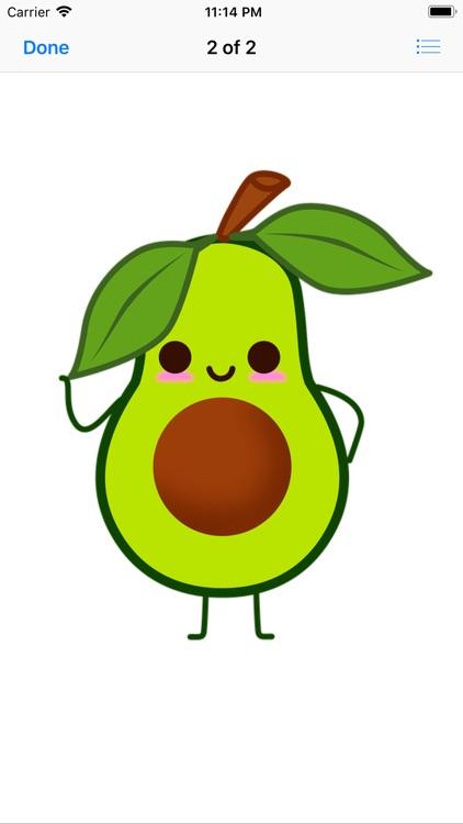 Lotsa Avocado Stickers screenshot-9