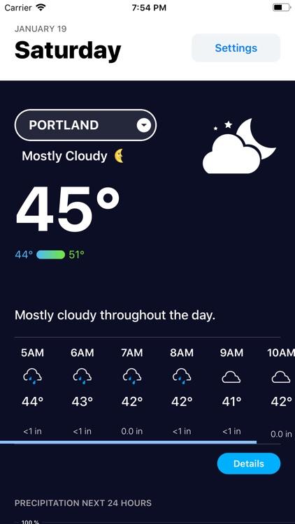 Weather Hippie: Alerts, Radar