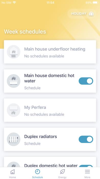 Daikin Residential Controllerلقطة شاشة4