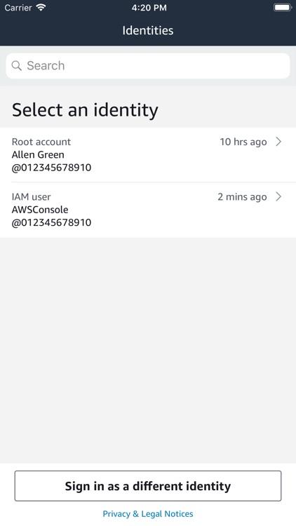 AWS Console screenshot-7