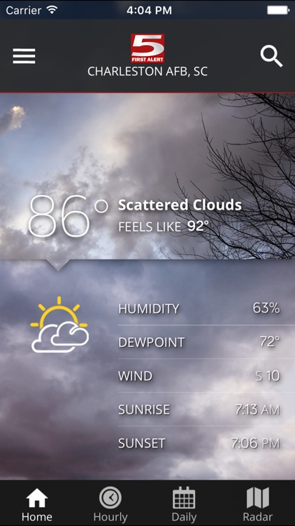WCSC Live 5 Weather screenshot-1