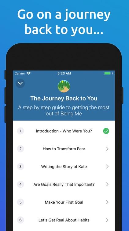 Being Me: Journal/Goals/Habits screenshot-3