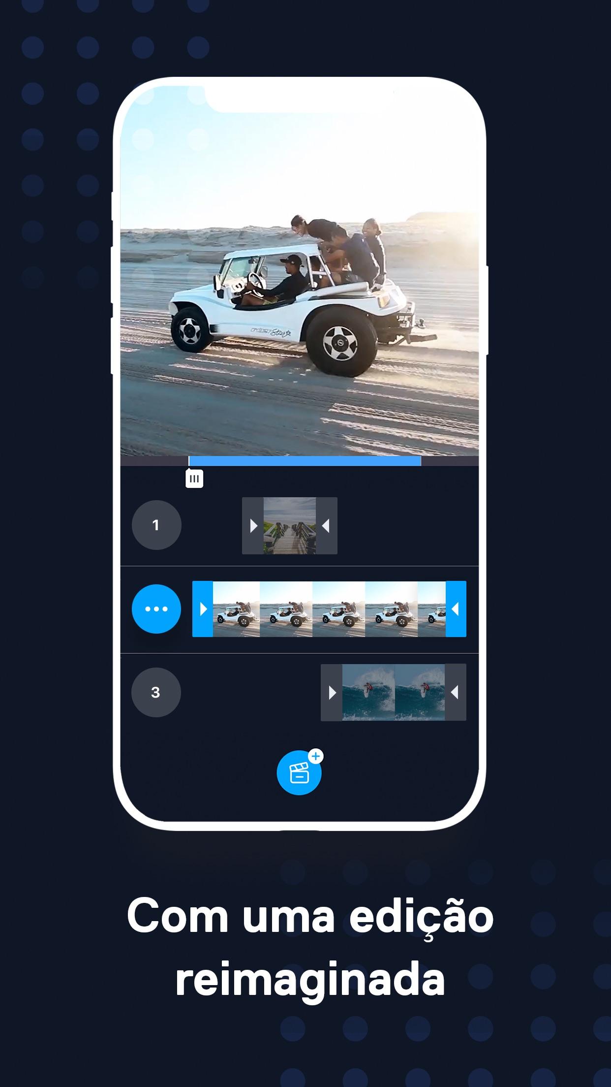 Screenshot do app Filmr: Editor de Vídeo e Filme
