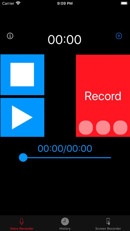 Voice Recorder , voice memo screenshot-0