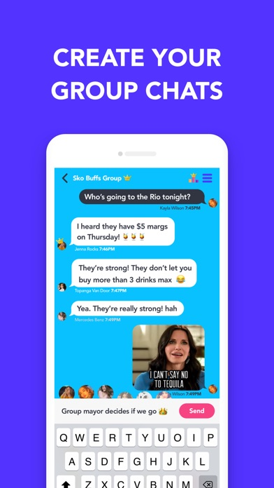 Pop: Chat with Stickers