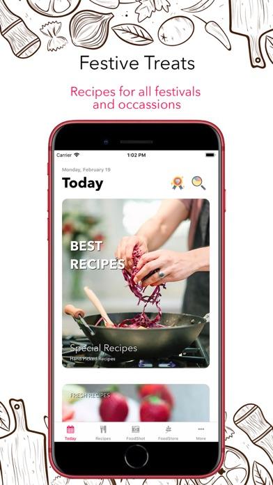 Food Book RecipesScreenshot of 1