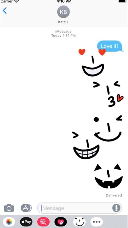 Tatami iMessage Face Emojis
