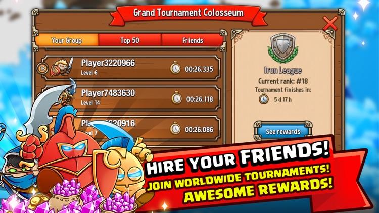 Crazy Kings Tower Defense Game screenshot-3