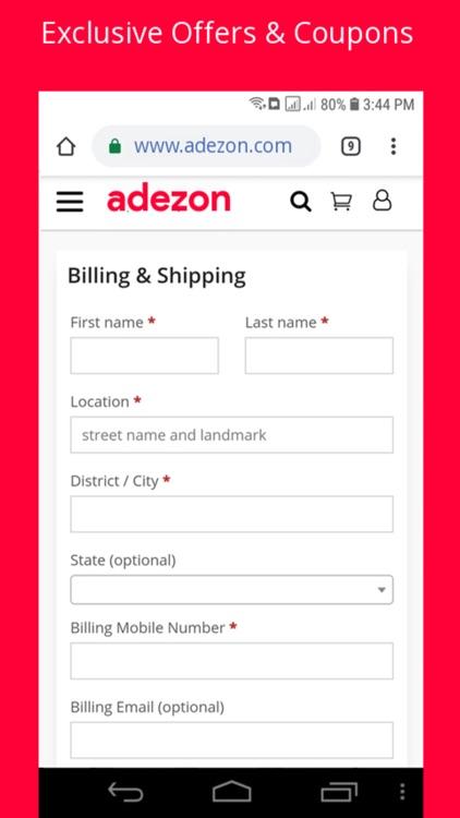 Adezon Shopping screenshot-3
