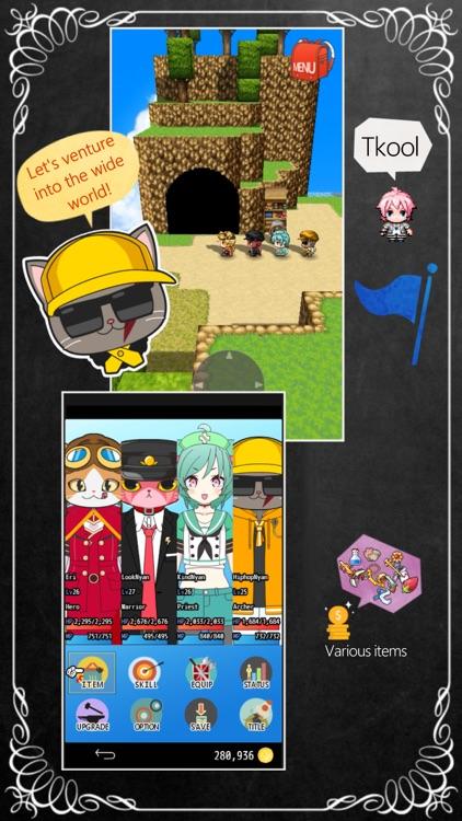 CAT HERO RPG : 3D NEKO ISEKAI screenshot-6