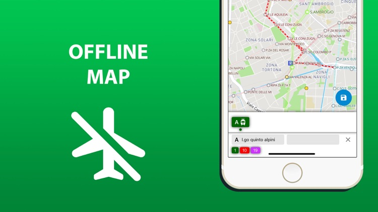 Public transport map Milan screenshot-4