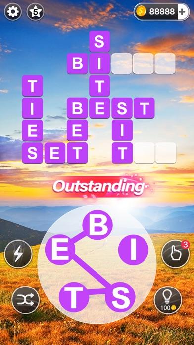 Word Calm -crossword puzzle screenshot 1