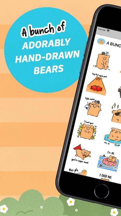 A BUNCHABEARS Stickers screenshot-6