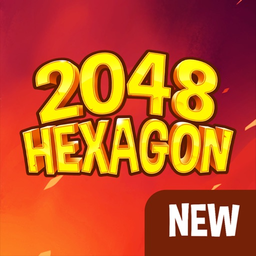 Honey Bee 2048 Hexagon