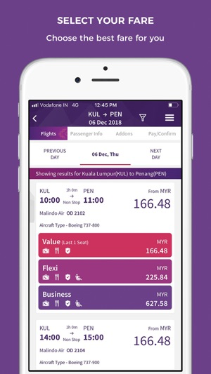 Malindo Air on the App Store