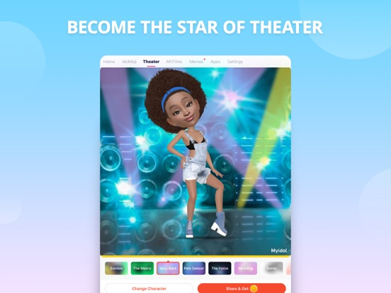 Myidol · 3D Avatar Creator iPad