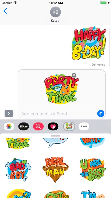 Screenshot for Daily Expressions Emojis in Australia App Store