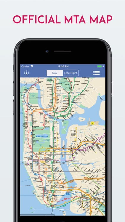 New York City MTA Subway Map