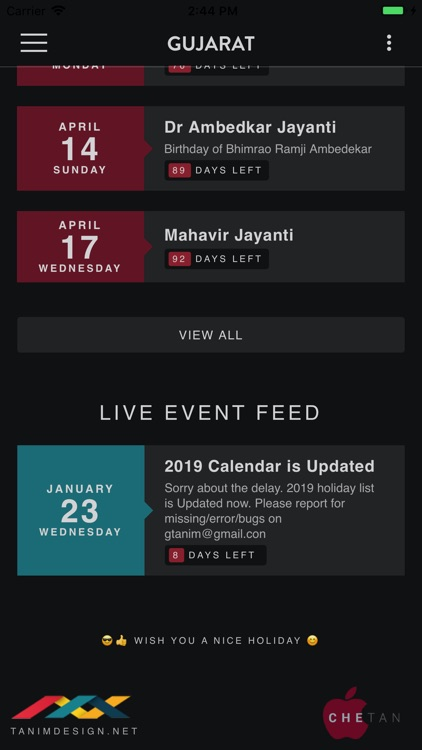 India Holiday Calendar screenshot-3