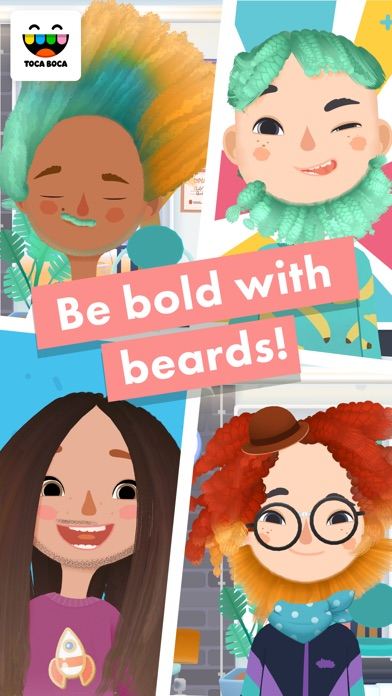 Screenshot for Toca Hair Salon 3 in Singapore App Store