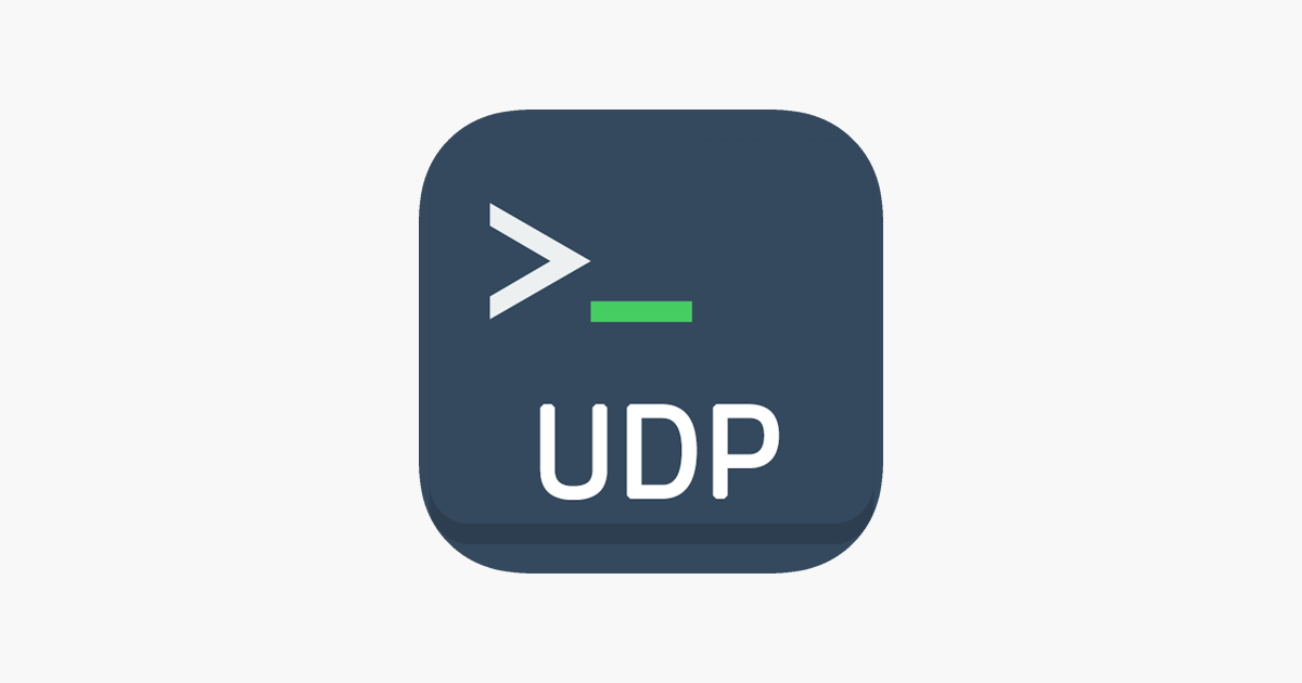 UDP Terminal on the App Store