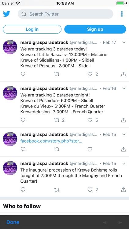 WWL Mardi Gras Parade Tracker screenshot-8