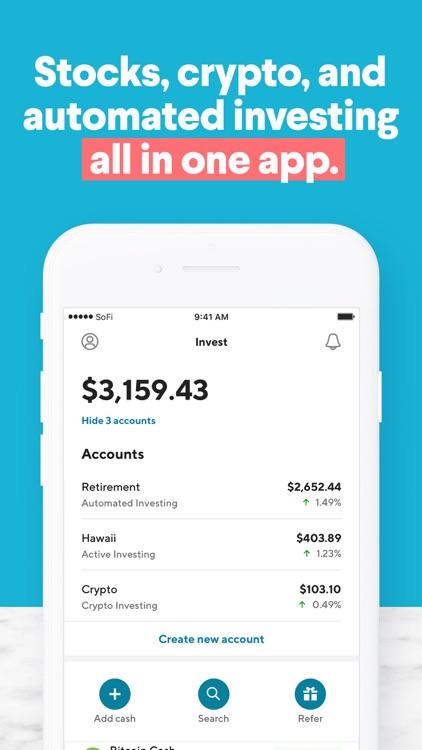 SoFi: Invest and Track Money screenshot-4