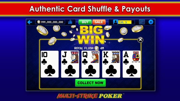 Multi-Strike Video Poker screenshot-4