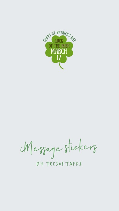 Screenshot for Luck of the Irish Stickers in United States App Store