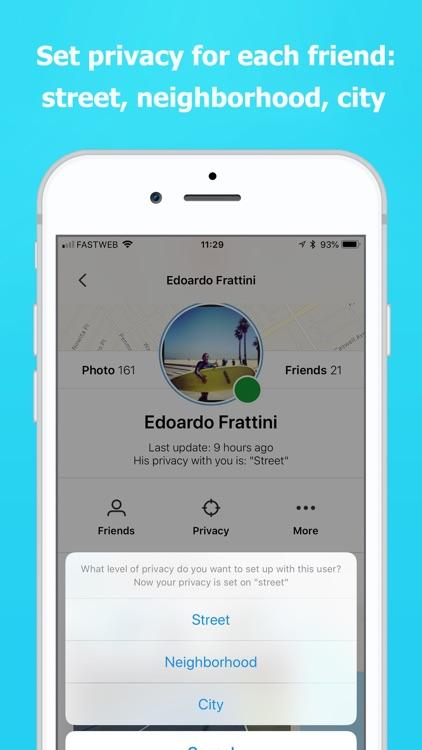 Find my friends phone: Sensory screenshot-3