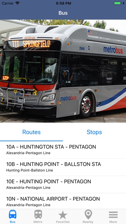 DC Metro & Bus: Navigator Map