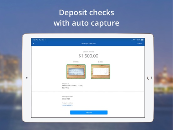 iPad Image of Chase Mobile®
