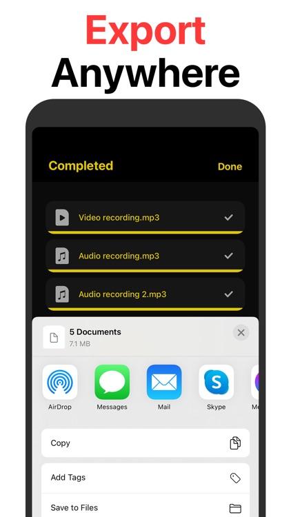 MP3 Converter: Audio converter screenshot-4