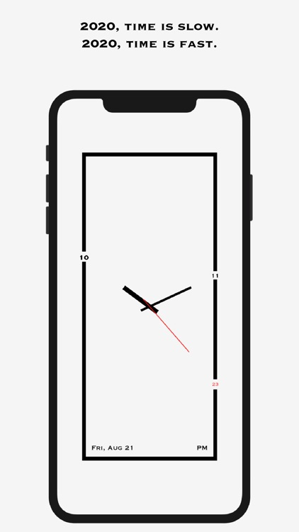 AMClock - Art Minimalist Clock